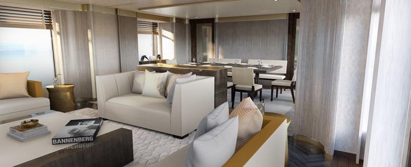 Main deck salon 2020 HEESEN YACHTS  Motor Yacht 2608974