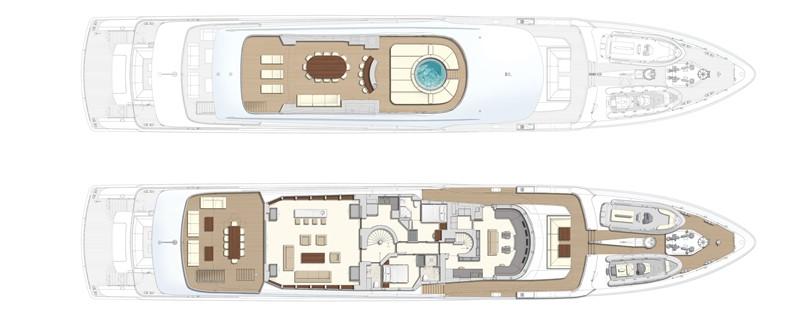 Sun deck & Wheelhouse deck 2020 HEESEN YACHTS  Motor Yacht 2608981