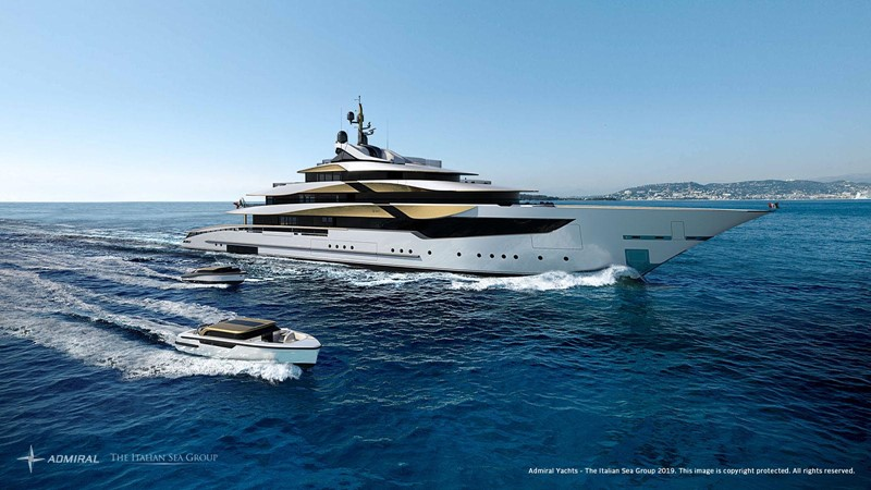 2020 Admiral - The Italian Sea Group 2022 Motor Yacht 2614357