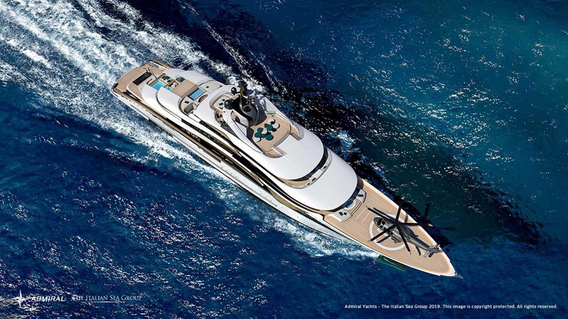 2020 Admiral - The Italian Sea Group 2022 Motor Yacht 2614361