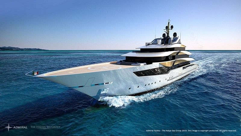 2020 Admiral - The Italian Sea Group 2022 Motor Yacht 2614371