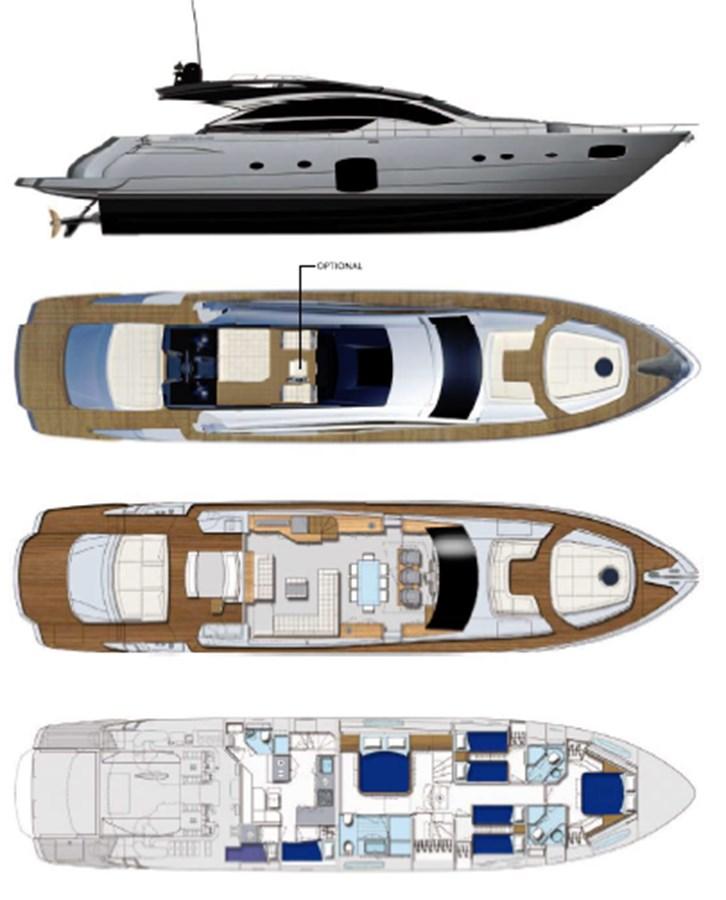 2015 PERSHING  Motor Yacht 2612145
