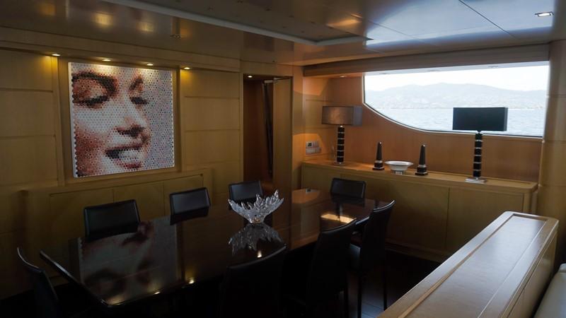 main deck dining 2007 SANLORENZO  Motor Yacht 2620076