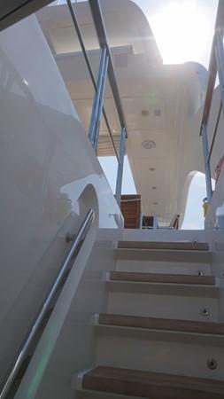 staircase 2007 SANLORENZO  Motor Yacht 2620080