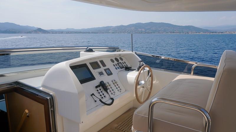 flybridge wheelhouse 2007 SANLORENZO  Motor Yacht 2620101