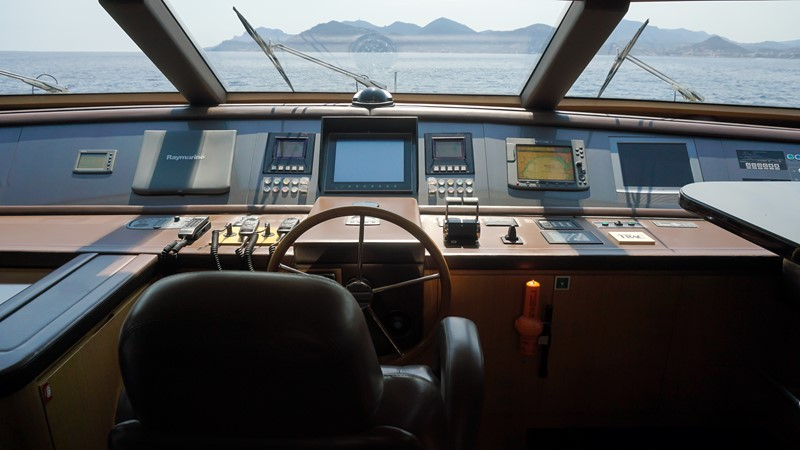 main deck wheelhouse 2007 SANLORENZO  Motor Yacht 2620102