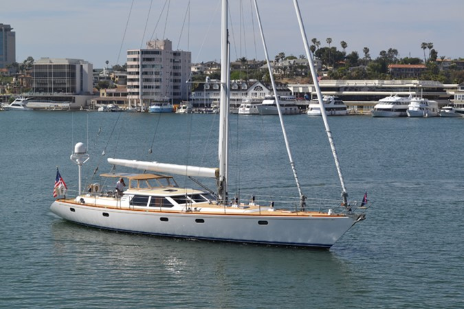 MEHETABEL EXTERIOR 1999 ADMIRAL MARINE Custom Performance Sailing Yacht Cutter 2614140