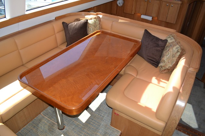 SALON DINING 1999 ADMIRAL MARINE Custom Performance Sailing Yacht Cutter 2614146