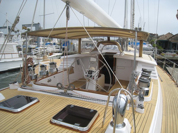 COCKPIT 1999 ADMIRAL MARINE Custom Performance Sailing Yacht Cutter 2614160