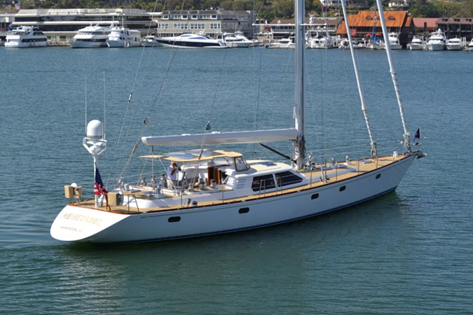 EXTERIOR 1999 ADMIRAL MARINE Custom Performance Sailing Yacht Cutter 2614167