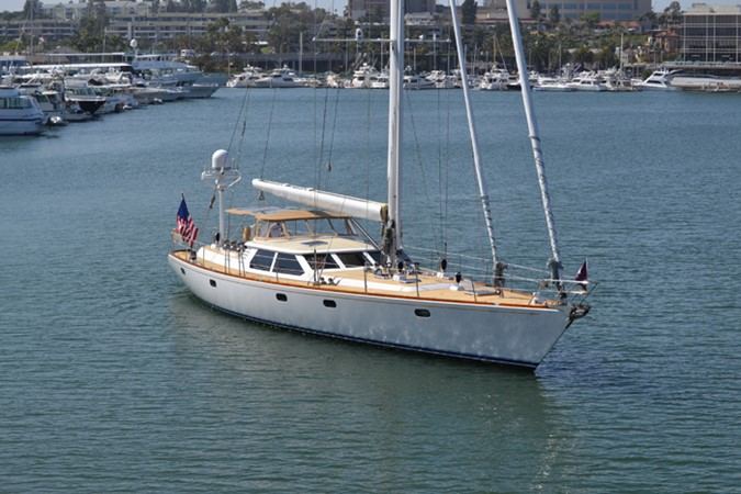 EXTERIOR 1999 ADMIRAL MARINE Custom Performance Sailing Yacht Cutter 2614168