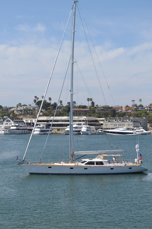 EXTERIOR 1999 ADMIRAL MARINE Custom Performance Sailing Yacht Cutter 2614169