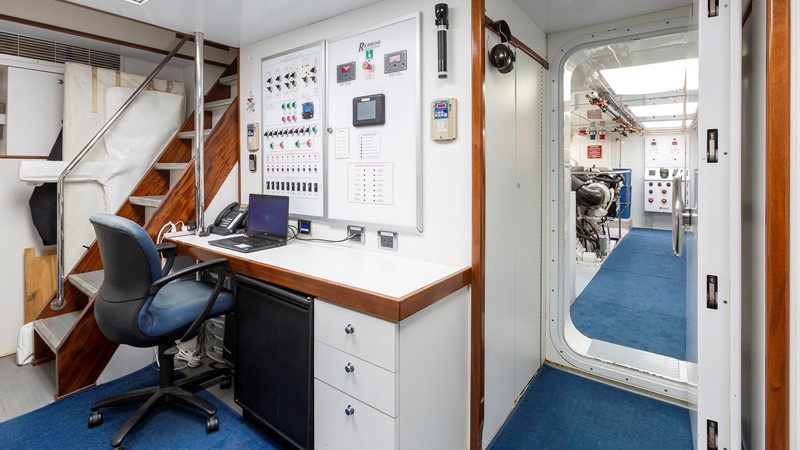 142' Richmond 2008/2019 CONTROL ROOM  2008 RICHMOND YACHTS  Motor Yacht 2620164