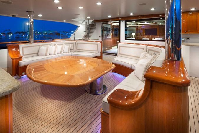 MAIN DECK AFT SEATING  2008 RICHMOND YACHTS  Motor Yacht 2622415