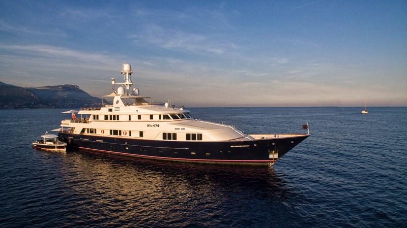 HIghRes-BLU470-SYM-Scholey-DJI_0091 1990 FEADSHIP  Motor Yacht 2615444
