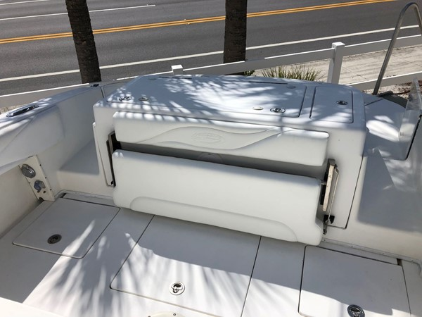 Rear Bench Seat and Fish Box 2007 SPECTRE  Center Console 2625046