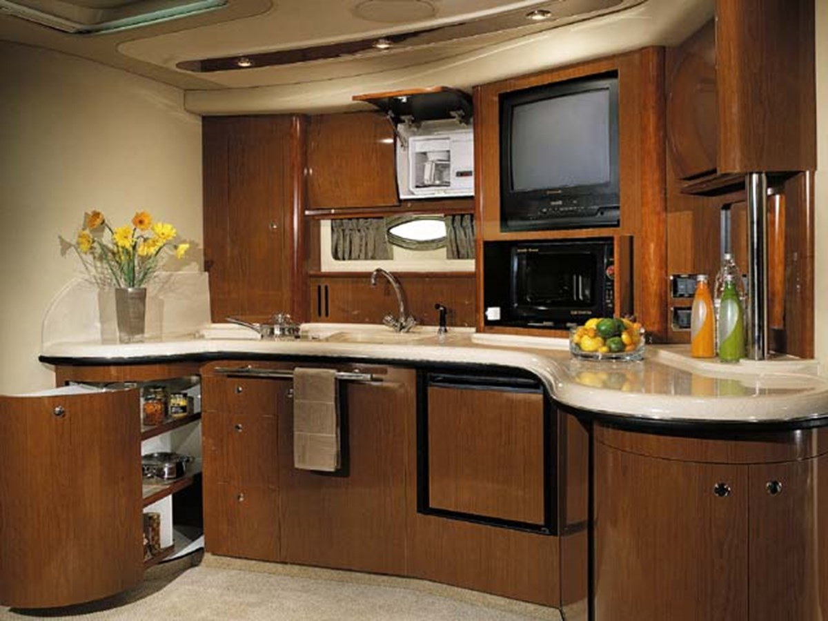 Great galley for easy entertaining 2003 SEA RAY Sundancer Sport Yacht Cruiser 2622662