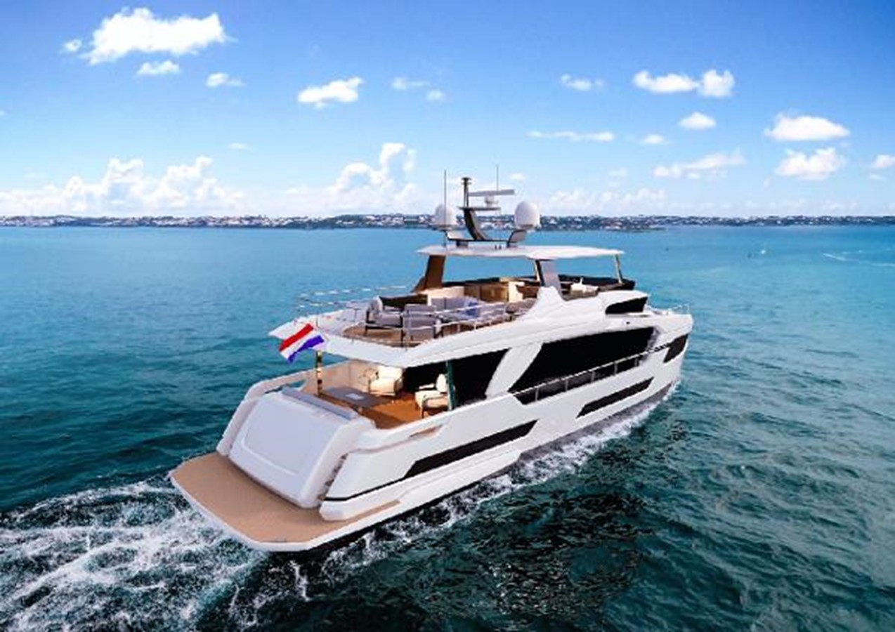 Manufactured Image 2020 HORIZON FD75 SKYLINE Motor Yacht 2617648