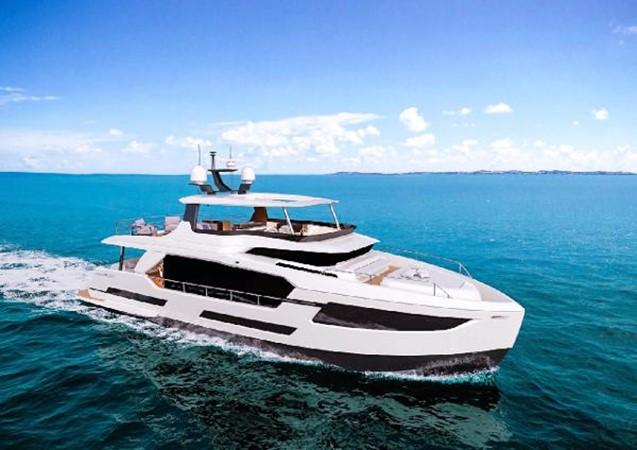 Manufactured Image 2020 HORIZON FD70 SKYLINE Motor Yacht 2617646