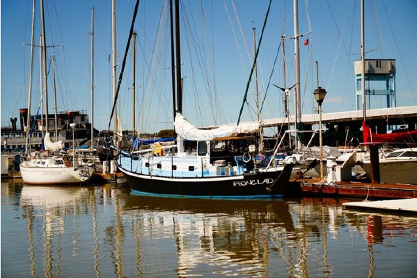 1992 CUSTOM Sailboat High Endurance World Beater Cruising Sailboat 2617760
