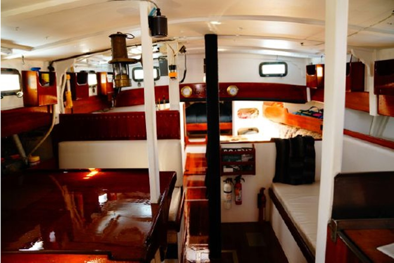 1992 CUSTOM Sailboat High Endurance World Beater Cruising Sailboat 2617773