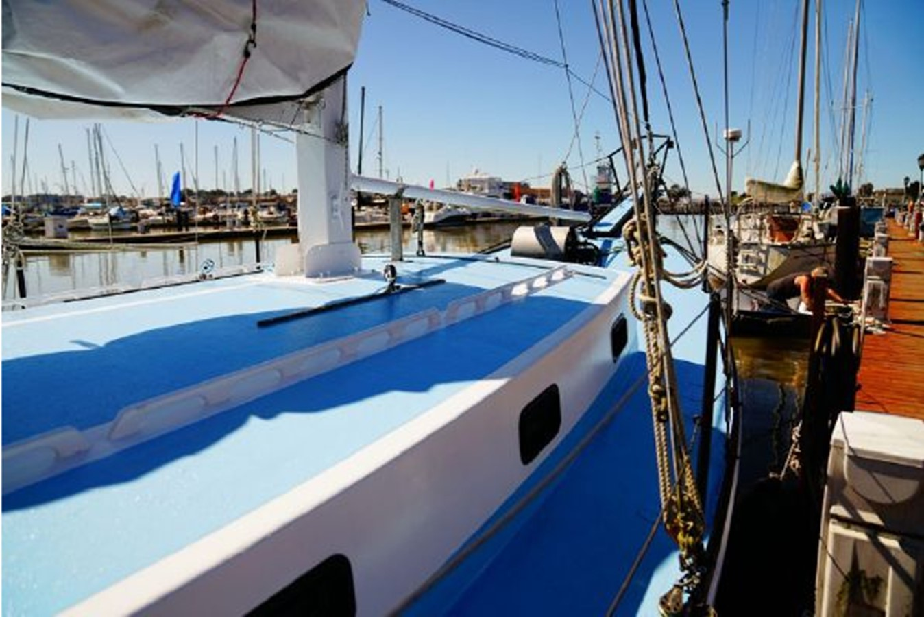 1992 CUSTOM Sailboat High Endurance World Beater Cruising Sailboat 2617781