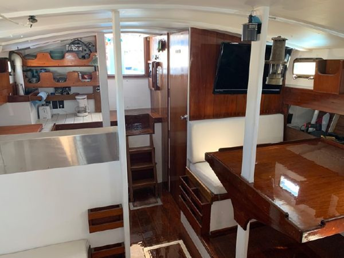 1992 CUSTOM Sailboat High Endurance World Beater Cruising Sailboat 2617787