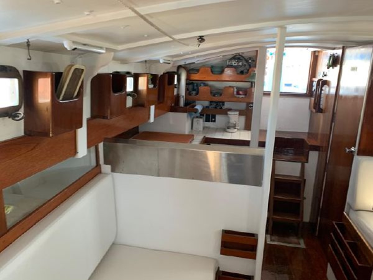 1992 CUSTOM Sailboat High Endurance World Beater Cruising Sailboat 2617788