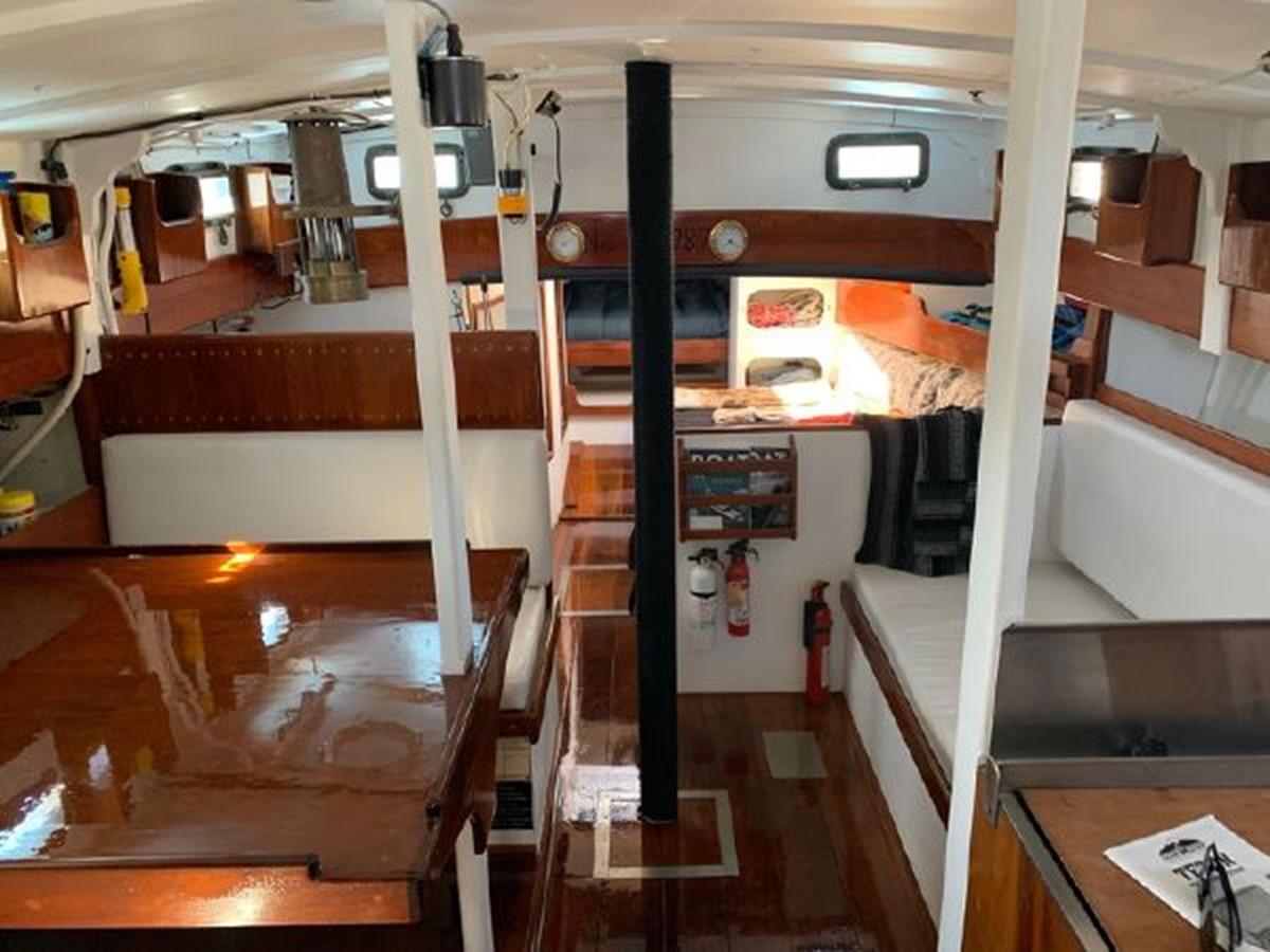 1992 CUSTOM Sailboat High Endurance World Beater Cruising Sailboat 2617789
