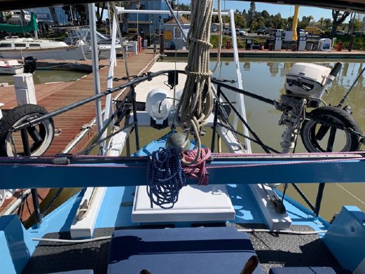1992 CUSTOM Sailboat High Endurance World Beater Cruising Sailboat 2617791