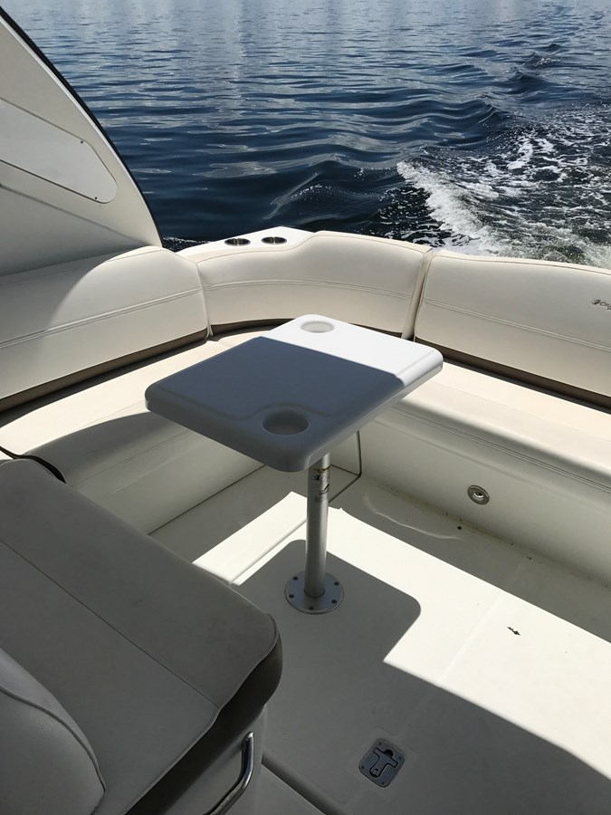 Cockpit Table 2008 Cruisers Yachts 360 Express Cruiser 2617968