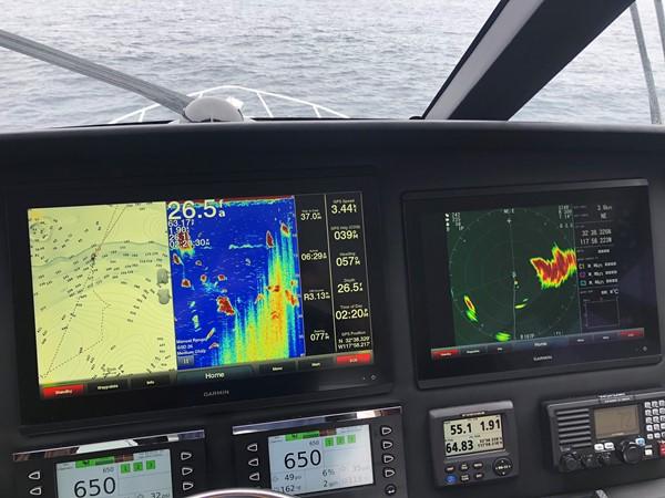 Electronics 2017 VIKING Enclosed Bridge Sport Fisherman 2619696