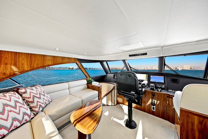Enclosed Bridge 2017 VIKING Enclosed Bridge Sport Fisherman 2627109