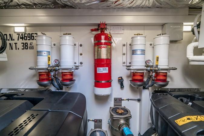 Fire Extinguishers 2016 PRINCESS YACHTS V58 Cruiser 2620610