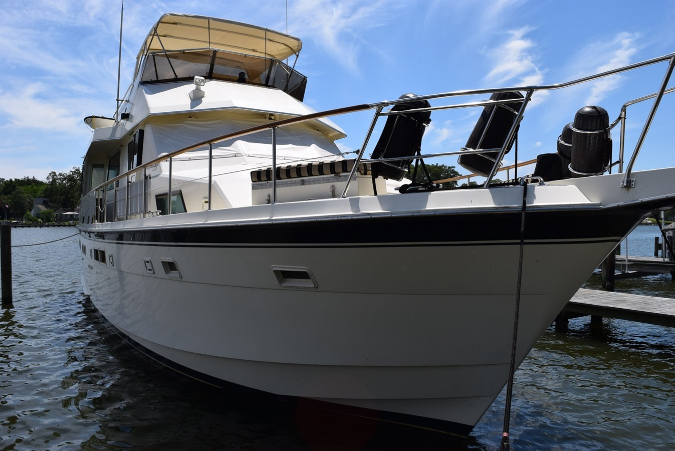 54 Hatteras Motoryacht - 54 HATTERAS For Sale