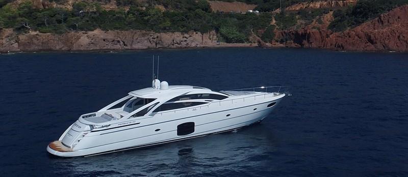 Side-View 2015 PERSHING 70 Motor Yacht 2673764