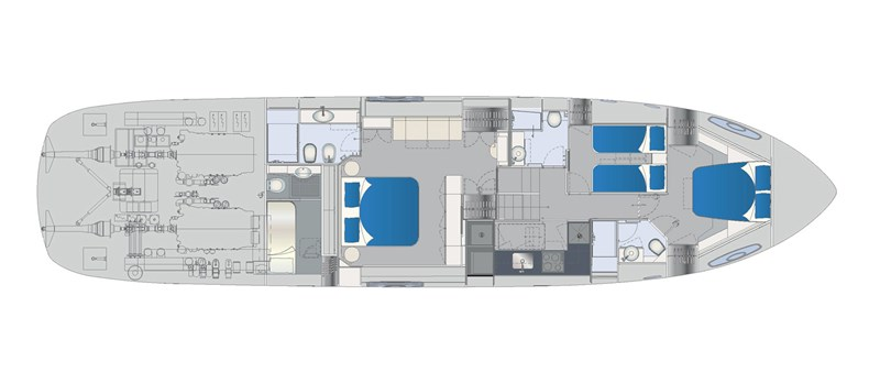 Lower-Deck 2015 PERSHING 70 Motor Yacht 2673777