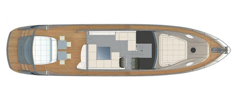 Main-Deck 2015 PERSHING 70 Motor Yacht 2673778