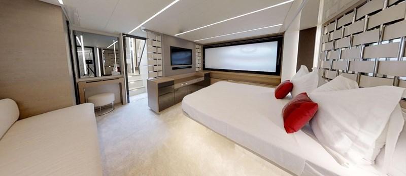 Master-Cabin-4 2015 PERSHING 70 Motor Yacht 2683607