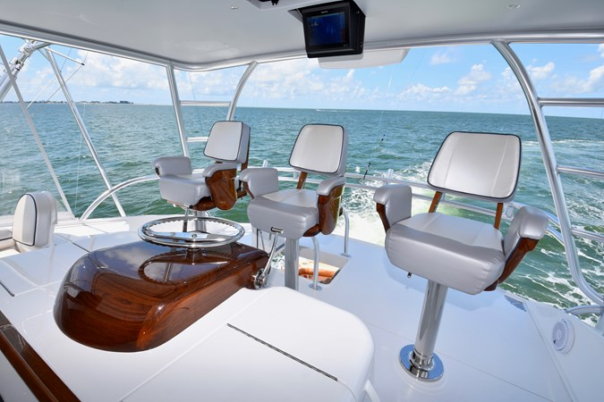 Flybridge Helm 2019 VIKING 68 Convertible Sport Fisherman 2625306