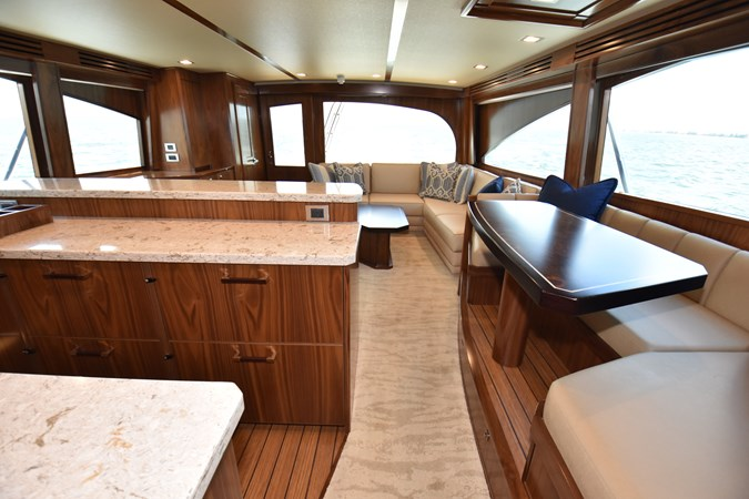 Galley and Dinette 2019 VIKING 68 Convertible Sport Fisherman 2625313