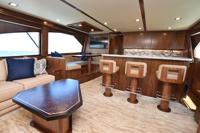Salon, Galley and Dinette (2) 2019 VIKING 68 Convertible Sport Fisherman 2625329