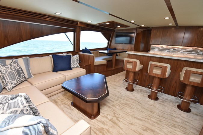 Salon, Galley and Dinette 2019 VIKING 68 Convertible Sport Fisherman 2625330