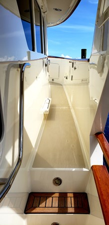 Covered Non Skid Portuguese Bridge Deck  2003 MARLOW  Motor Yacht 2678242