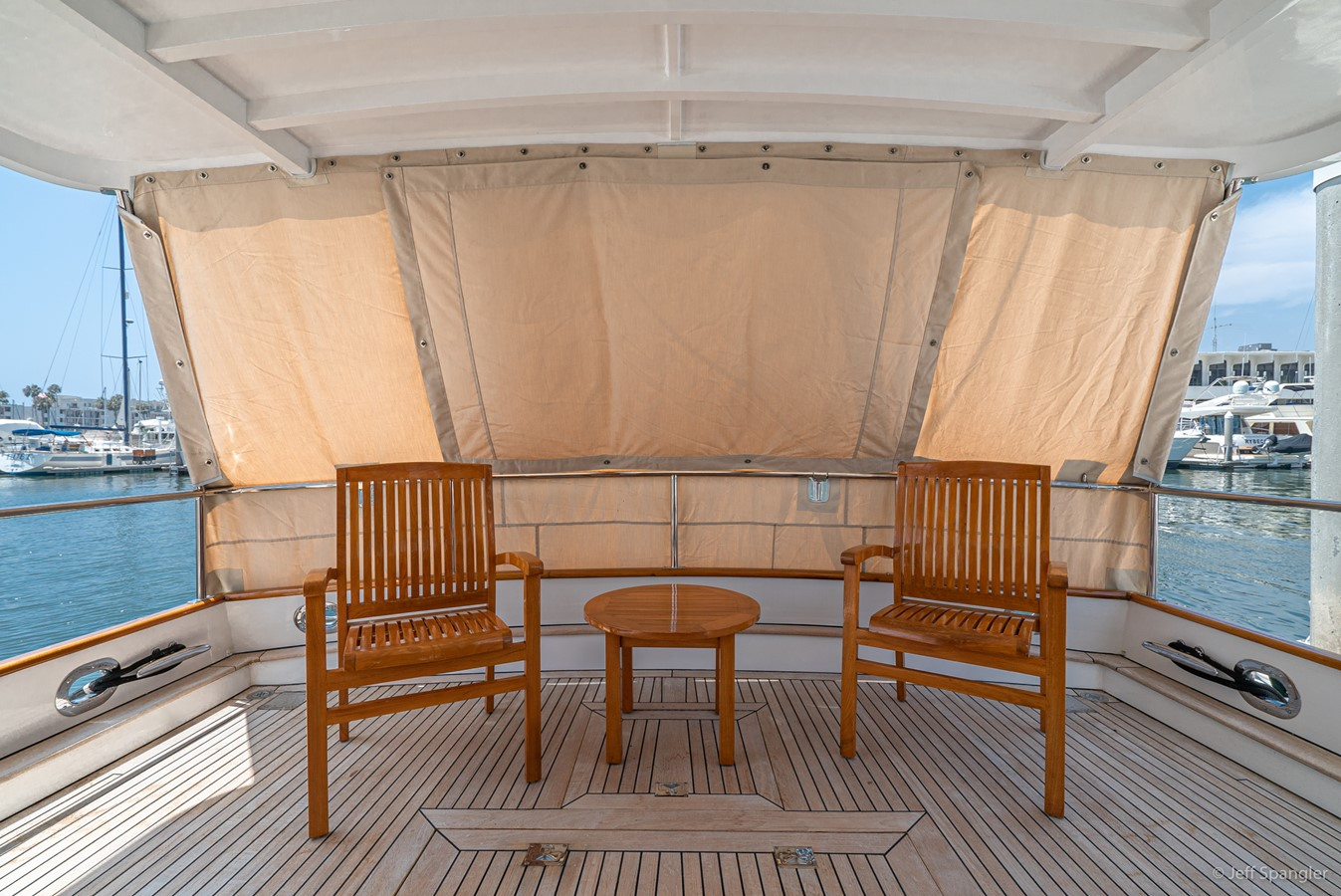 Aft Deck with Cover 1973 GRAND BANKS Grand Banks Europa Trawler 2625950