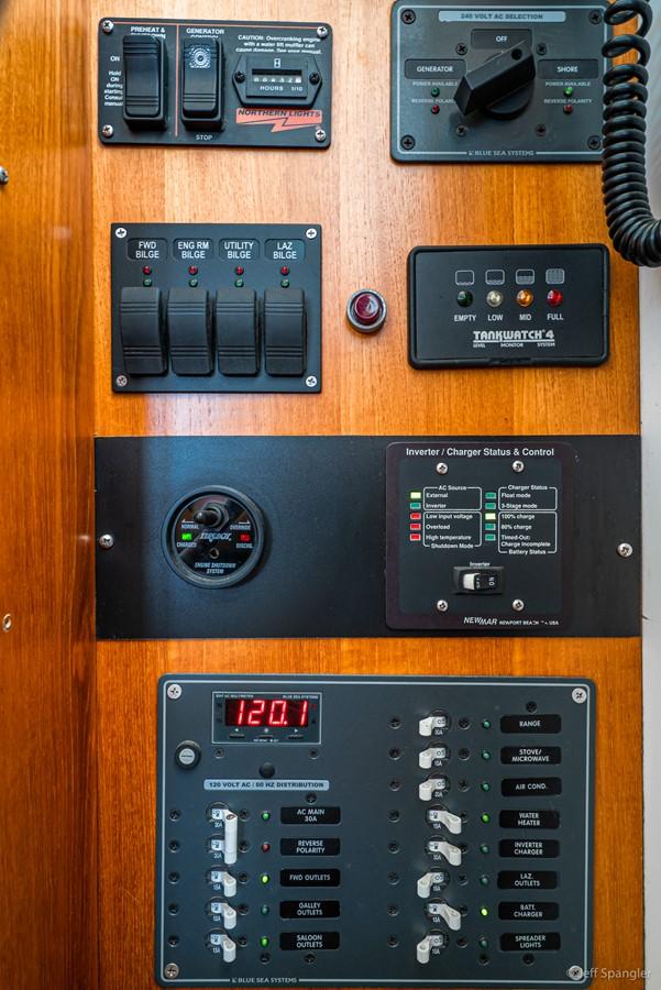 Electrical Panel 1973 GRAND BANKS Grand Banks Europa Trawler 2625973
