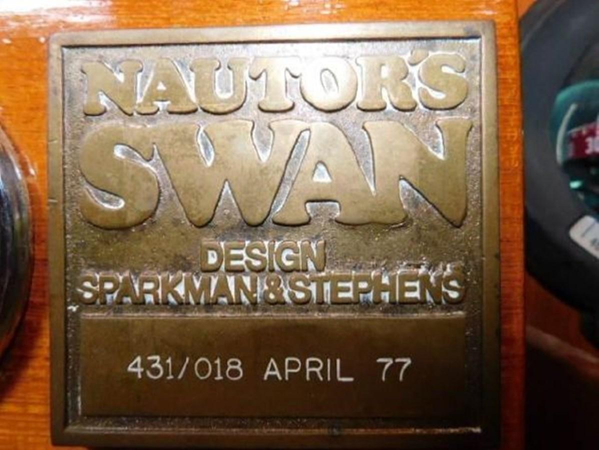 22 1977 NAUTOR'S SWAN 431 Cruising/Racing Sailboat 2626247