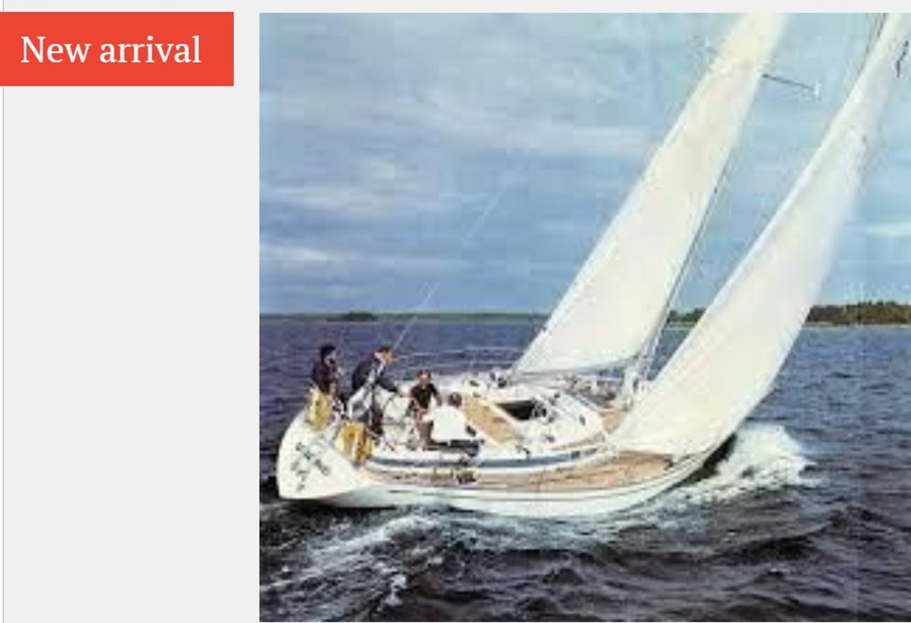 Capture 1977 NAUTOR'S SWAN 431 Cruising/Racing Sailboat 2626266