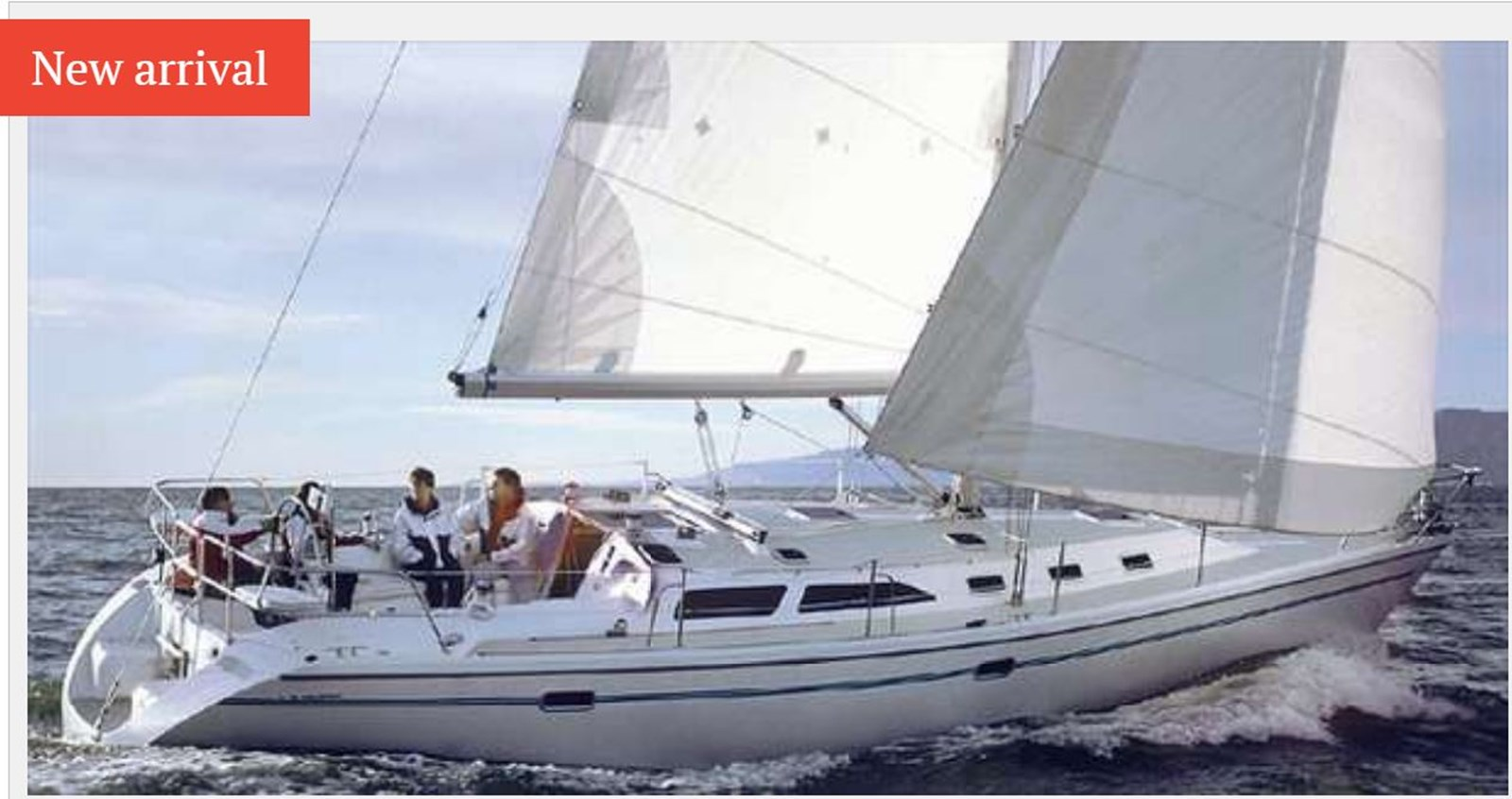 Capture 1996 CATALINA 42 MKII Cruising Sailboat 2626267