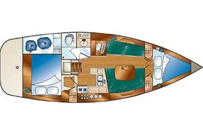 33 2006 HUNTER 36 Cruising Sailboat 2626396